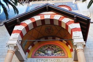 Chiesa di Terrasanta o Dell'Immacolata Concezione - mosaico