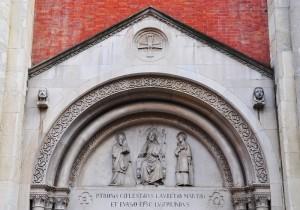 Duomo di Sant'Evasio - lunetta