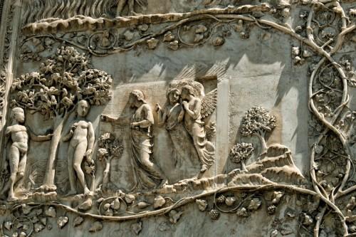 Orvieto - La cacciata dal Paradiso terrestre