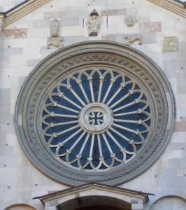 Rosone del Duomo di Modena