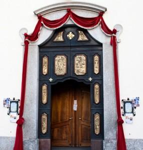 Portale ingresso San Maurizio