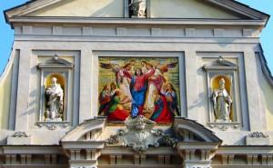 Il mosaico dell'Assunzione di Maria