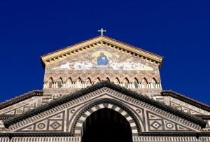 Coronamento del Duomo di Sant'Andrea ad Amalfi