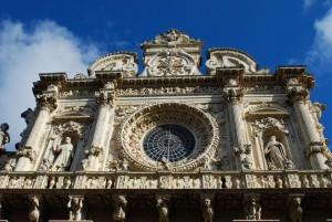 Il Rosone Barocco - Basilica S. Croce
