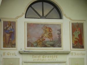 chiesa parrocchiale di pollein