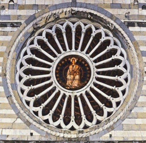 """Genova - """" Il rosone quattrocentesco"""""""