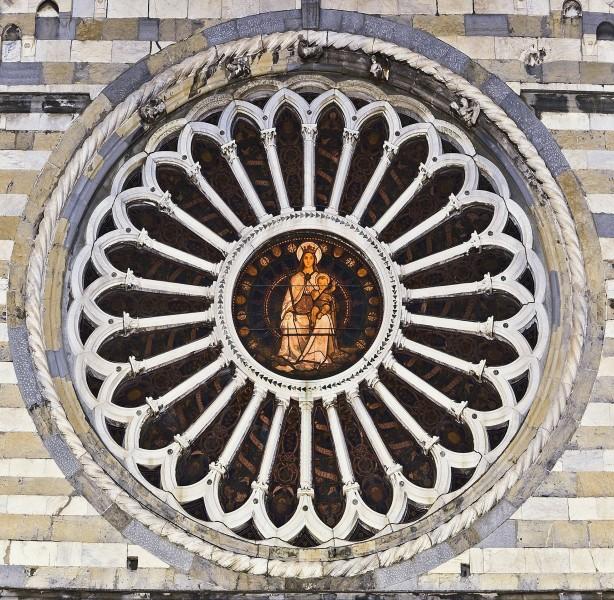 """''"""" Il rosone quattrocentesco""""'' - Genova"""