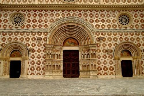 """L'Aquila - Basilica Santa Maria di Collemaggio """" dopo il terremoto """""""
