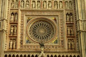 """Duomo di Orvieto """" il ROSONE """""""