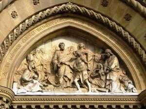Lunetta del Duomo di Arezzo