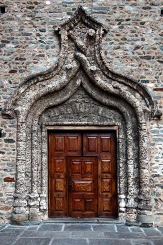 Arnad - Il portale di San Martino