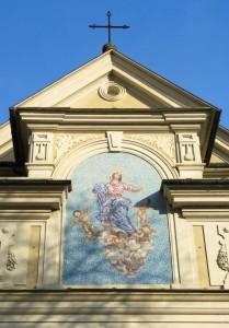 Mosaico raffigurante N. S. Assunta