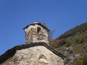 Briga Alta, fraz. Upega, croce sul campanile della chiesetta Madonna della Neve