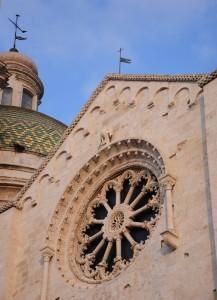 un rosone archivoltato per la Cattedrale di Bitetto