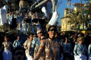 coreografia carnevalesca
