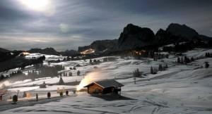 Alpe di Siusi al chiar di luna