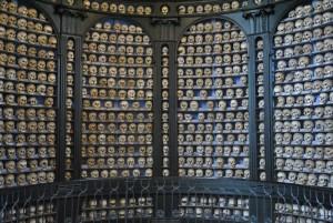 Ossario nella Cappella di San Martino (n. 185)