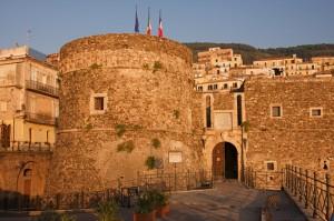 Castello Murat, all'imbrunire