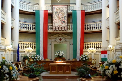 Reggio Emilia - Reggio Emilia: la Sala del Tricolore