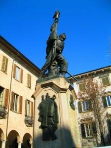 A Varese : I Cacciatori delle Alpi