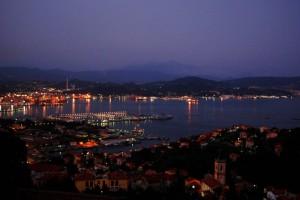luci nel porto