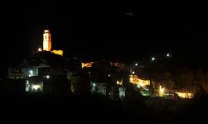 Castel Vittorio di notte