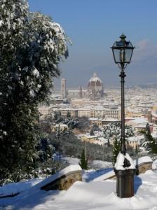Illuminato dalla neve