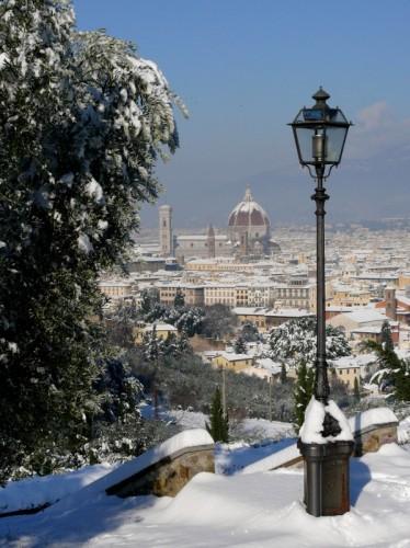 Firenze - Illuminato dalla neve