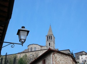 San Fortunato e il lampione