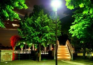 Arona by night