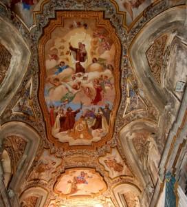 Santa Maria Vergine del Monte Carmelo: affresco del soffitto