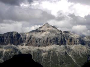 Dolomiti - Gruppo Sella - Visto dalla Marmolada