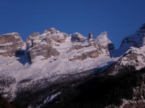 Tramonto sul Gruppo del Brenta