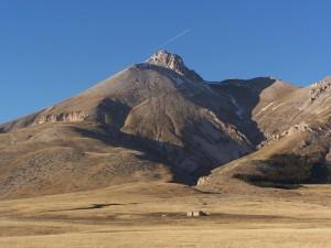 Il monte Camicia da Campo Imperatore