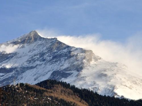 Mompantero - Rocciamelone, Sferzato dal vento.
