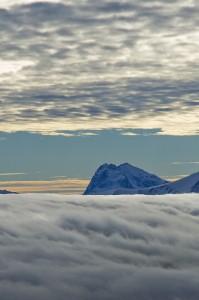 Sopra un mare di nuvole………
