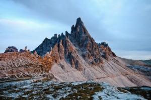 Monte Paterno (2.746 m) al tramonto