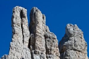 Torri del Vajolet - Ospiti sulla Torre Delago (2790 m)