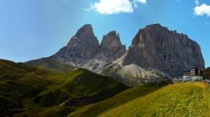 Sassolungo dal Passo Sella (3181 m)
