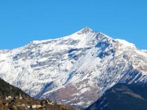 La vetta del Rocciamelone (3.538 m s.l.m.) - Versante Sud-Ovest