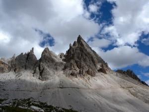 Monte Paterno, versante di Dobbiaco
