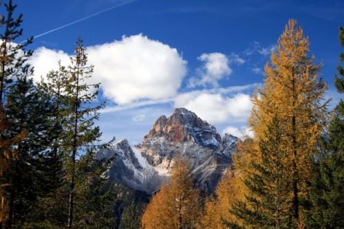 Cortina d'Ampezzo - LA CRODA ROSSA (DALLA STRADA PER MISURINA)