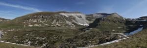 Monte Pavione e busa di cavaren