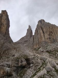 le Torri del Vajolet, Val di Fassa