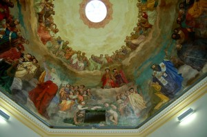 Volta della cappella Sant'Agostino nel Castello Ducale