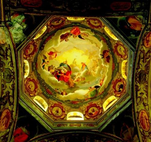 Lodi - La cupola del Tempio dell'Incoronata di Lodi
