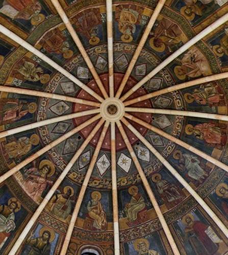 Parma - La cupola del Battistero