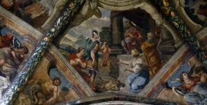Affreschi sul soffitto della Cattedrale di San Donato