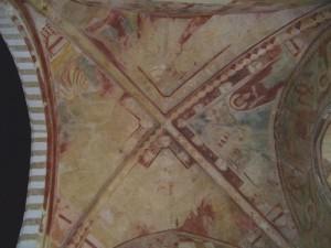 Una crociera dipinta in S. Maria del Casale