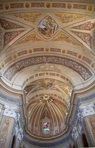 Soffitto Chiesa parrocchiale di San Lorenzo